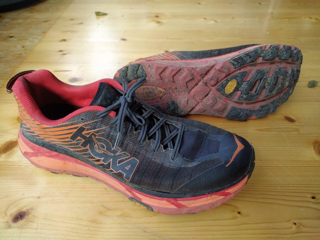 Hoka One One Evo Mafate 2 ein stark gedämpfter Schuh