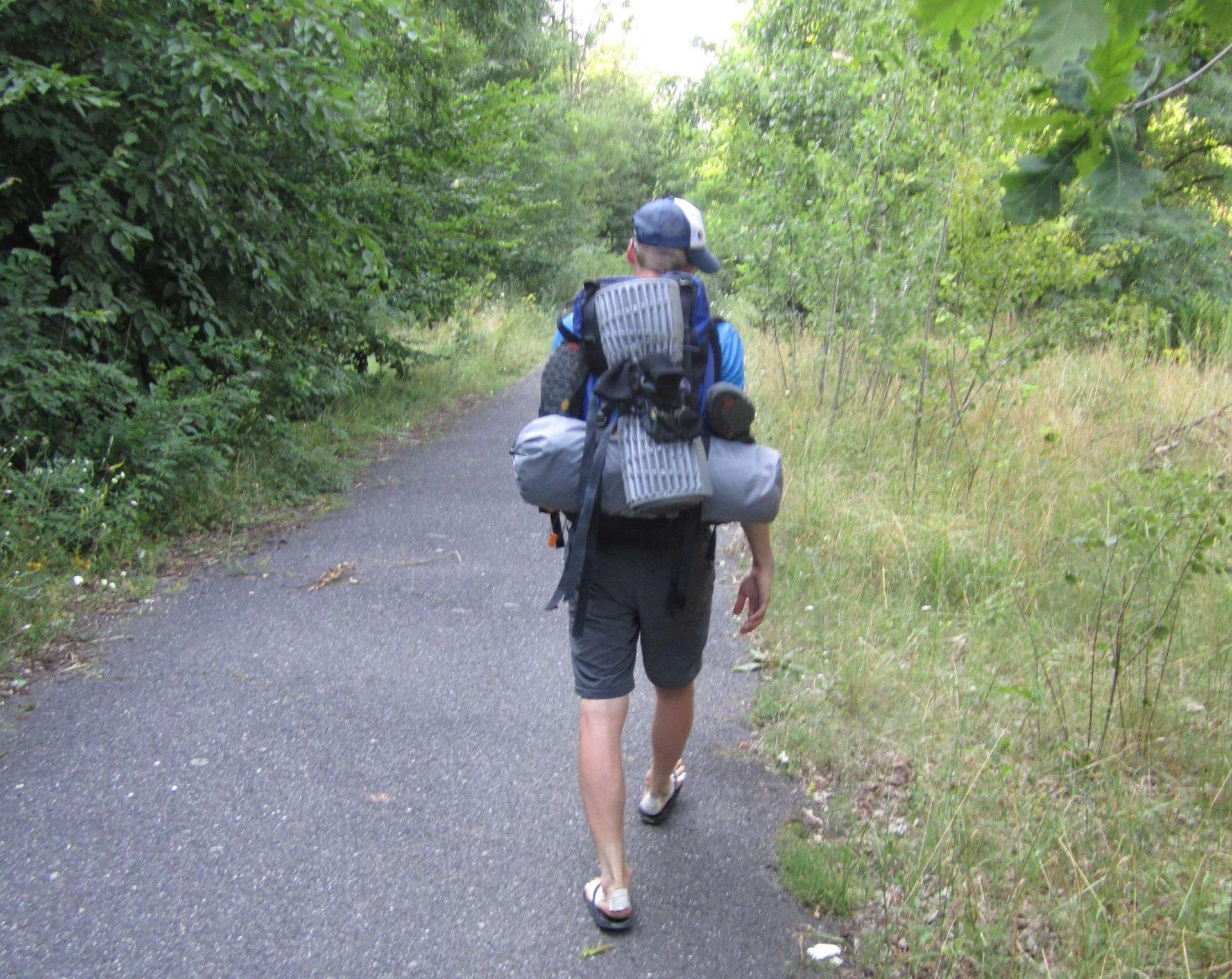 Meine erste Weitwanderung - Mit Flip Flops auf Wanderschaft. Weiter geht es... vorerst